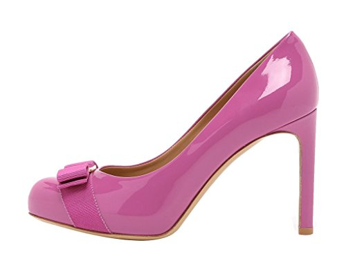 Guoar-Womens-Big-Size-High-Heels-Patent-Round-Toe-Bowknot-Pumps-Shoes-For-Dress-Party-Prom-0