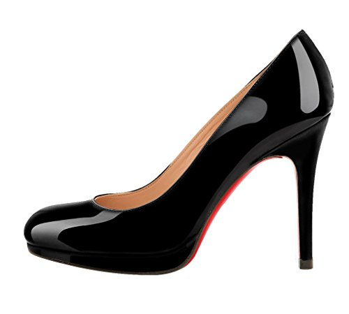 Guoar-Womens-Big-Size-Stiletto-High-Heels-Round-Toe-Patent-Pumps-Shoes-with-Platform-For-Party-Dress-0