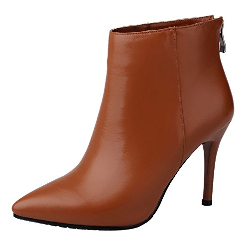 Guoar-Womens-High-Heel-Bootie-Big-Size-Pointed-Toe-Zip-Stiletto-Ankle-Boots-for-Wedding-Party-Dress-0