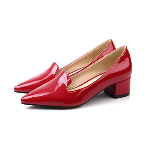 Guoar-Womens-Mid-Heels-Big-Size-Dress-Sandal-Slip-On-Patent-Pointed-Closed-Toe-Chunky-Heel-Pump-Shoes-0