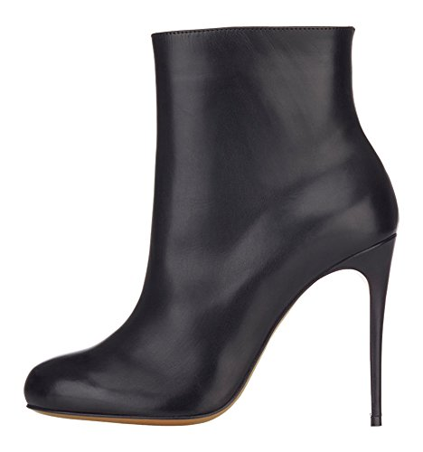 Guoar-Womens-Shoes-High-Heel-Bootie-Big-Size-Round-Toe-Zip-Stiletto-High-top-Ankle-Boots-0