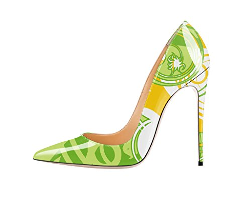 Guoar-Womens-Stiletto-Big-Size-Court-Shoes-Pointed-Toe-Colourful-Patent-Pumps-for-Wedding-Party-Dress-0-0