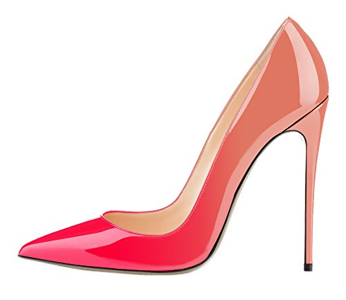 Guoar-Womens-Stiletto-Big-Size-Court-Shoes-Pointed-Toe-Colourful-Patent-Pumps-for-Wedding-Party-Dress-0