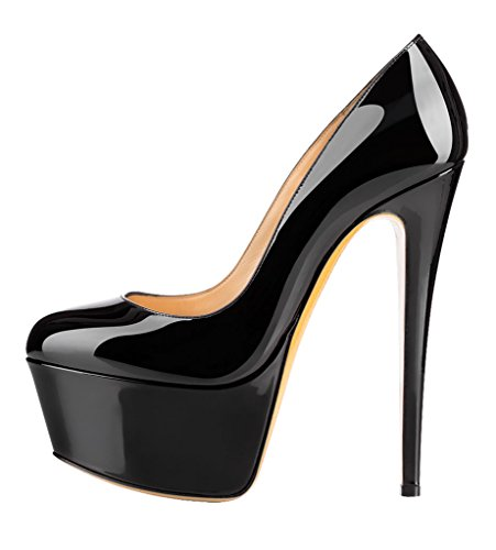 Guoar-Womens-Stiletto-Big-Size-High-Heels-Closed-Toe-Platform-Patent-Pumps-for-Wedding-Party-Dress-0
