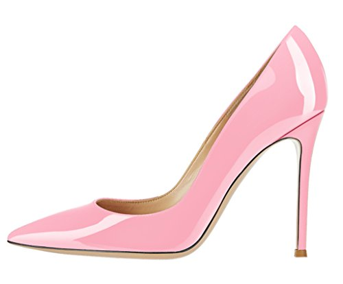 Guoar-Womens-Stiletto-Big-Size-Sandals-Solid-Shoes-Pointed-Toe-Ladies-Patent-Pumps-for-Wedding-Party-0