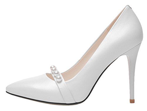 Guoar-Womens-Stiletto-Heel-Big-Size-Solid-Shoes-Pointed-Toe-Pearl-Decoration-Pumps-0