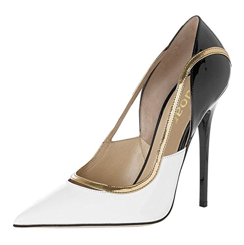 Guoar-Womens-Stiletto-Heel-Sandals-Big-Size-Shoes-Pointed-Toe-Cut-Out-Pumps-for-Wedding-Party-Dress-0