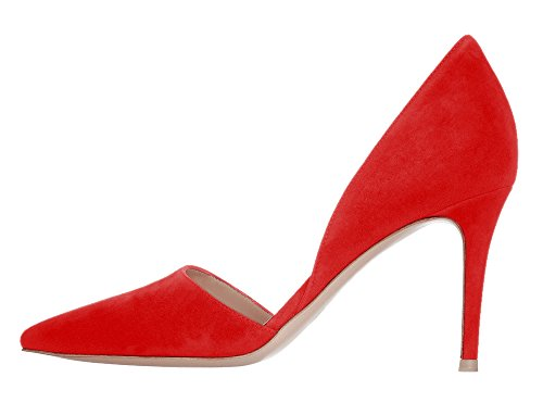 Guoar-Womens-Stiletto-Heel-Sandals-Big-Size-Shoes-Pointed-Toe-DOrsayTwo-Piece-Pumps-for-Party-Dress-0