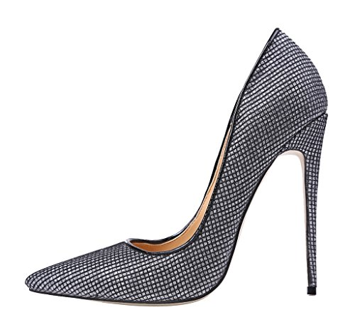 Guoar-Womens-Stiletto-Heel-Sandals-Big-Size-Shoes-Pointed-Toe-Mesh-Pumps-for-Wedding-Party-Dress-0