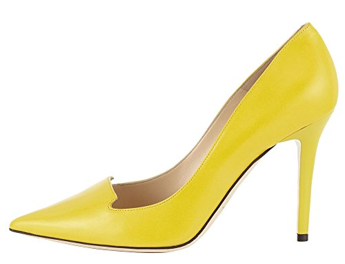 Guoar-Womens-Stiletto-Heel-Sandals-Big-Size-Solid-Shoes-Pointed-Toe-PU-Pumps-for-Wedding-Party-Dress-0