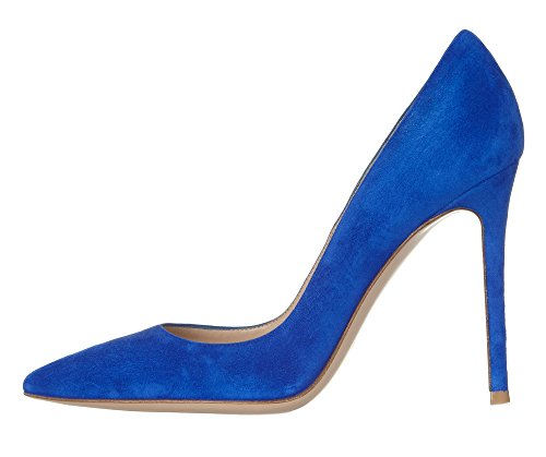 Guoar-Womens-Stiletto-Heel-Sandals-Big-Size-Solid-Shoes-Pointed-Toe-Suede-Pump-for-Wedding-Party-Dress-0