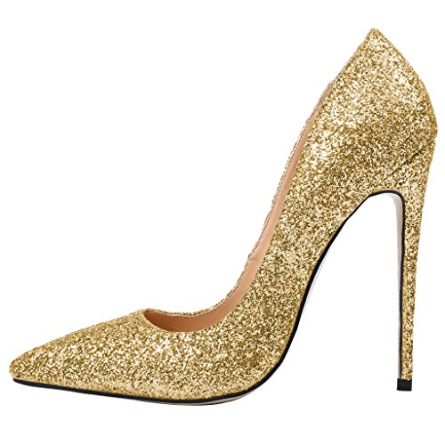 Guoar-Womens-Stiletto-Heels-Big-Size-Shoes-Pointed-Toe-Bling-Fabric-Pumps-for-Wedding-Party-Dress-0