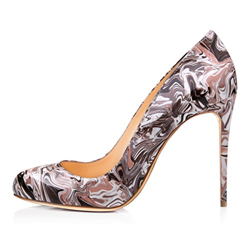 JOOGO-Womens-Fashion-Ladies-Round-Toe-High-Heel-Slim-Stiletto-Pumps-Dress-Shoes-0