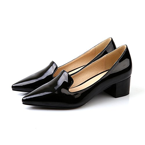 Guoar-Womens-Mid-Heels-Big-Size-Dress-Sandal-Slip-On-Patent-Pointed-Closed-Toe-Chunky-Heel-Pump-Shoes-US95-0