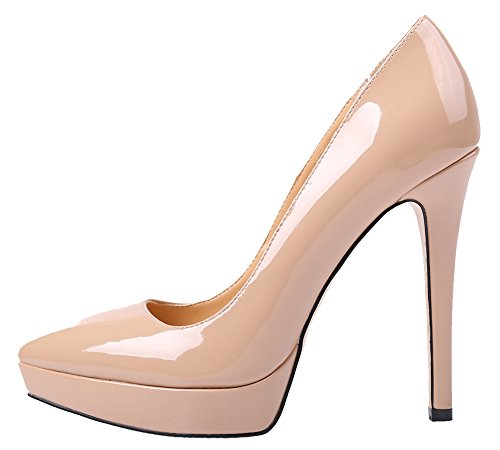 Women Dressy High Heel Pointed Toe Pumps with Large Size