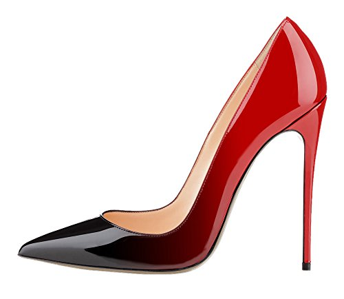Guoar-Womens-Stiletto-Big-Size-Court-Shoes-Pointed-Toe-Colourful-Patent-Pumps-for-Wedding-Party-Dress-Red-US75-0