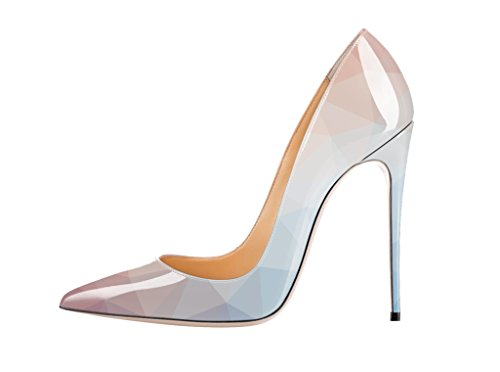 Guoar-Womens-Stiletto-Big-Size-Court-Shoes-Pointed-Toe-Colourful-Patent-Pumps-for-Wedding-Party-Dress-US9-0