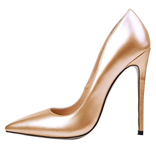 Guoar-Womens-Stiletto-Heels-Sandals-Big-Size-Solid-Shoes-Pointed-Toe-Patent-Pumps-for-Wedding-Party-Dress-Gold-US65-0