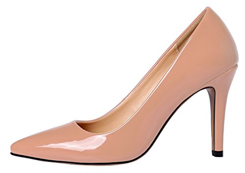 Guoar-Womens-Stiletto-Sandals-Plus-Size-Shoes-Pointed-Toe-Solid-Patent-Pumps-for-Wedding-Party-Dress-0