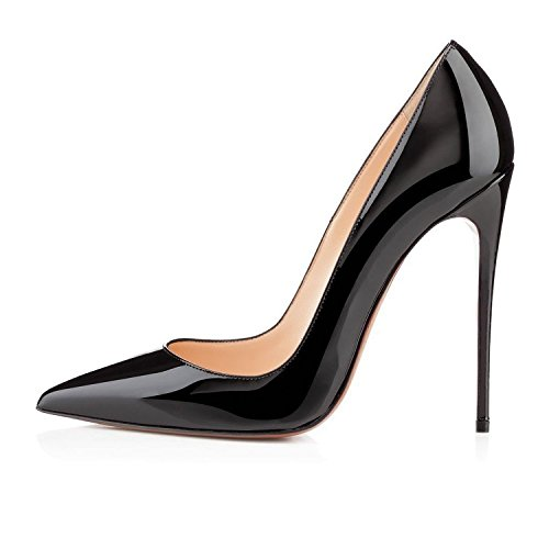 VASHOP-Womens-Pointed-Toe-Stiletto-Sky-High-Heel-Pumps-Plus-Size-for-Wedding-Party-Dress-0