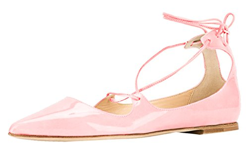 AOOAR-Womens-Lace-Up-Flats-0