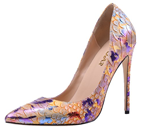 AOOAR-Womens-Snakeskin-Print-High-Heel-Dress-Pumps-Shoes-0