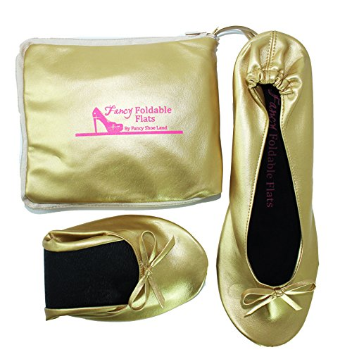 Foldable-Flat-Ballet-shoes-EXPANDABLE-TOTE-BAG-to-Carrying-High-Heels-Folding-Gold-Shoes-sizes-5-12-shoes-that-fold-up-0