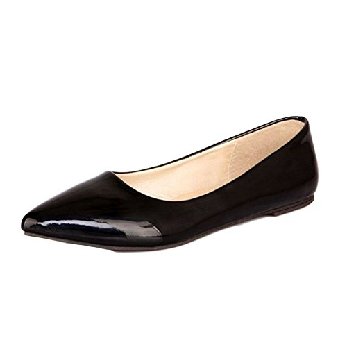 Smilice-Women-Flats-Patent-Leather-Pointed-Toe-Slip-on-Shoes-6-Colors-Available-Size-1-13-US-0