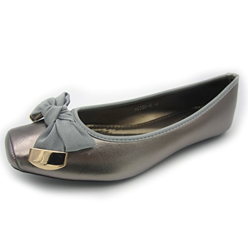 Spring-Fashion-Women-Casual-Shoes-Flat-Heel-Slip-On-Ballet-Shoes-Plus-Size-42-0