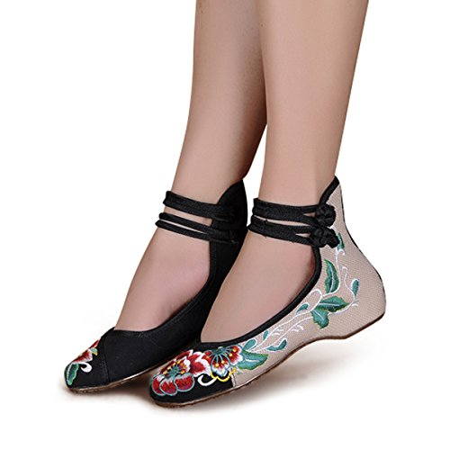 Veowalk-Mid-Top-Flower-Embroidery-Womens-Casual-Cotton-Flat-Shoes-Ladies-Hiking-Canvas-Ballets-Plus-Size-0