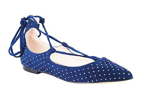 Verocara-Womens-Ankle-Straps-Point-Toe-Genuine-Leather-Comfortable-Flats-0-0