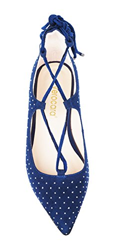 Verocara-Womens-Ankle-Straps-Point-Toe-Genuine-Leather-Comfortable-Flats-0-1