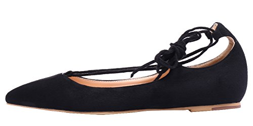 AOOAR-Womens-Adjustable-Strap-Black-Suede-Casual-Flats-8-M-US-0-0