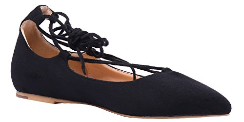 AOOAR-Womens-Adjustable-Strap-Black-Suede-Casual-Flats-8-M-US-0-1