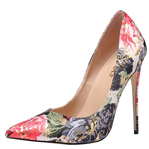 AOOAR-Womens-High-Heel-Floral-Party-Pumps-Shoes-0