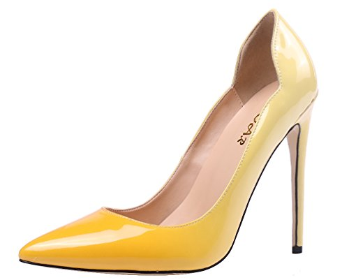 AOOAR-Womens-Pointy-Two-toned-Stiletto-Pumps-0