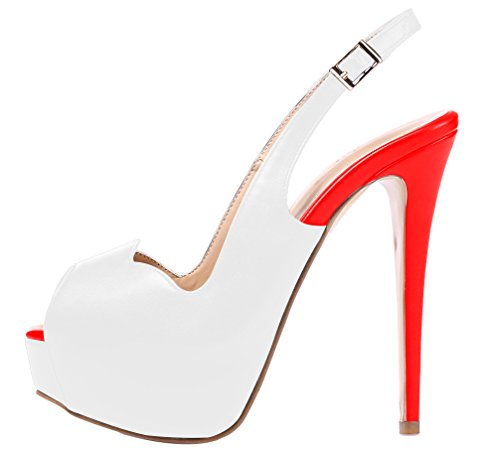 AOOAR-Womens-Slingback-High-Heels-with-Hidden-Platform-White-Red-PU-Party-Pumps-11-M-US-0-0