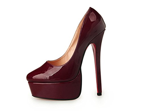 Guoar-Womens-Closed-Toe-Stiletto-High-Heels-Patent-Leather-Platform-Pumps-Shoes-for-Party-Wedding-Burgundy-US-15-0