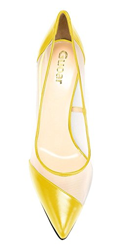 Guoar-Womens-Mesh-Stiletto-Heel-Big-Size-Shoes-Pointed-Toe-Ladies-Pumps-for-Work-Place-Dress-Yellow-US-8-0-1