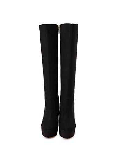 Guoar-Womens-Plus-Size-Platform-High-Heels-Knee-High-Boots-for-Party-Wedding-Dress-Black-Suede-US-14-0-2