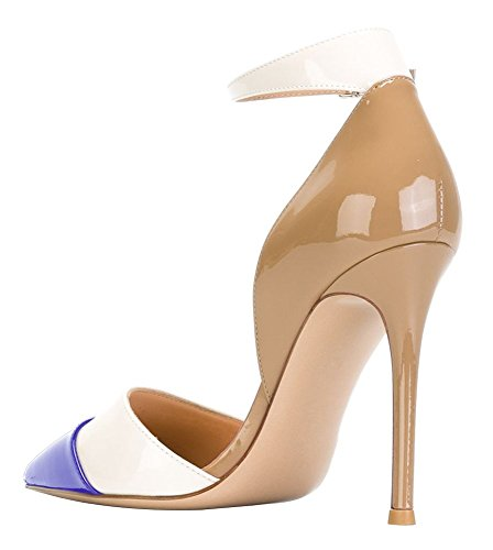Guoar-Womens-Stiletto-Big-Size-Heel-Sandals-Pointed-Toe-Colourful-Patent-Pumps-for-Wedding-Party-Dress-Khaki-Blue-US8-0-1