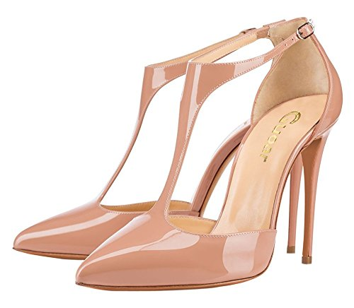 Guoar-Womens-Stiletto-Big-Size-Heel-Sandals-Pointed-Toe-Colourful-Patent-Pumps-for-Wedding-Party-Dress-Nude-US15-0-0