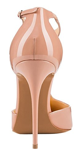 Guoar-Womens-Stiletto-Big-Size-Heel-Sandals-Pointed-Toe-Colourful-Patent-Pumps-for-Wedding-Party-Dress-Nude-US15-0-2
