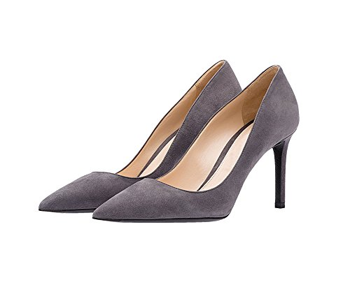 Guoar-Womens-Stiletto-Big-Size-Shoes-Pointed-Toe-Ladies-High-Heel-Pumps-for-Work-Prom-Dress-Party-Grey-US75-0-0
