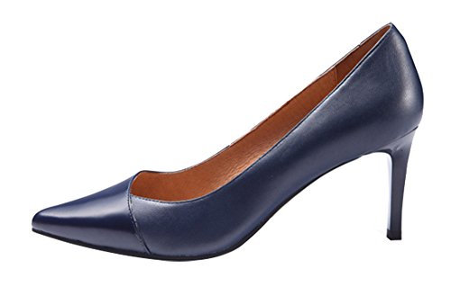 Guoar-Womens-Stiletto-Heel-Big-Size-Solid-Shoes-Pointed-Toe-PU-Pump-for-Wedding-Party-Dress-Navy-US8-0