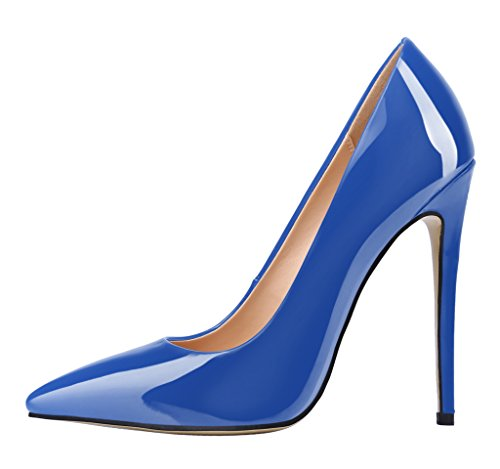 Guoar-Womens-Stiletto-Heel-Plus-Size-Solid-Shoes-Pointed-Toe-Patent-Pumps-for-Wedding-Party-Dress-Blue-US65-0