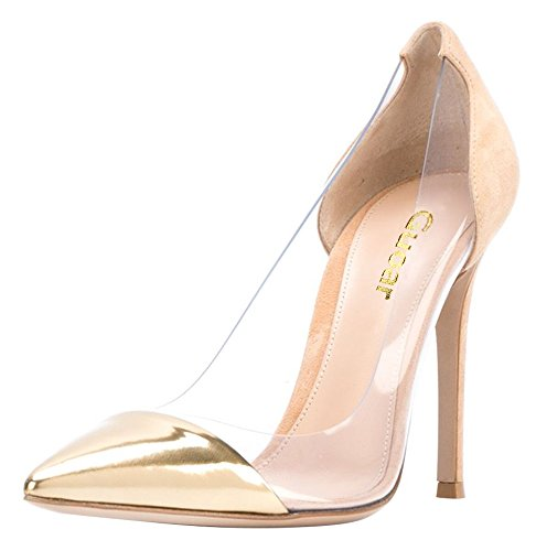 Guoar-Womens-Stiletto-Heel-Sandals-Big-Size-Solid-Shoes-Pointed-Toe-Suede-Pumps-for-Wedding-Party-Dress-Camel-US55-0-1