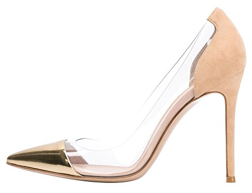 Guoar-Womens-Stiletto-Heel-Sandals-Big-Size-Solid-Shoes-Pointed-Toe-Suede-Pumps-for-Wedding-Party-Dress-Camel-US55-0