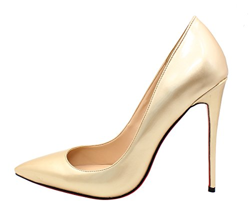 Guoar-womens-Pointed-Toe-High-Heels-Large-Size-Gold-Special-Materials-Pumps-Shoes-size-5-12-US-105-0