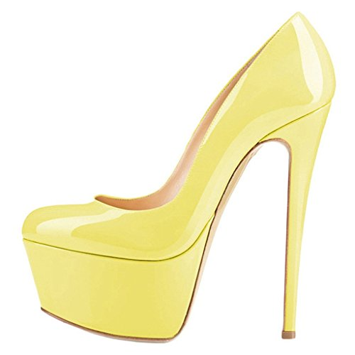 Women-Round-Toe-Platform-Pumps-Stiletto-High-Heels-Dress-Shoes-0